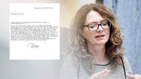 HEGGØ: Ingrid Heggø (Ap) er medlem av Finanskomiteen på Stortinget.  Hun krever at justisministeren kommer i Stortinget og svarer på hvorfor ikke inkassosalærer og gebyrer justeres ned nå. Foto: Jon Olav Nesvold (NTB scanpix)