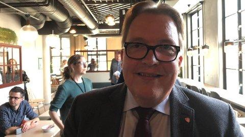 MER: Aps transportpolitiske talsperson, Sverre Myrli, sier folk må betale mer bompenger i framtida. - Vi må være ærlige på det, sier han