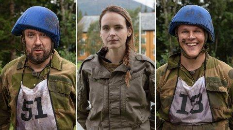 NY SESONG: Bernt Hulsker, Linnéa Myhre og Vegard Harm er blant deltakerne i sesong to av TV-suksessen.
