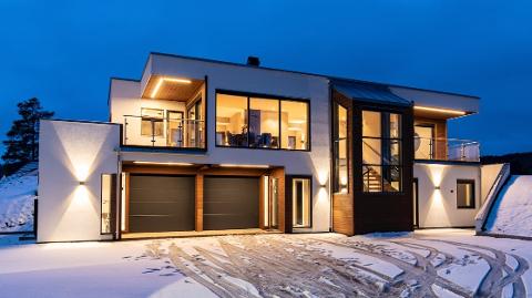SOLGT: Denne eiendommen i Båtstø - Skogfaret 18 - gikk for 10,8 millioner kroner.
