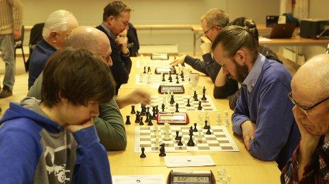 KLUBB: Sande Sjakk er nå formelt godkjent som klubb innunder Norges Sjakkforbund.