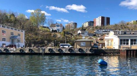 BYGGEPLANER: A/S Thor Dahl har store planer for Ranvik Brygge. Den eldre bygningsmassen på kaia skal bort, og blir erstattet av boliger. Langs Hystadveien skal det oppføres næringsbygg-