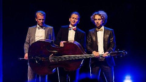 KONSERT: Nordic Tenors er tilbake i Sandnes. I kveld er tenorane klare for publikum.