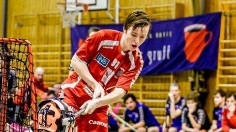 MÅLSCORER: Greåkers målfarlige løper Ådne Øvereng skal spille for Norge i U19-VM. Foto: Tobias Nordli