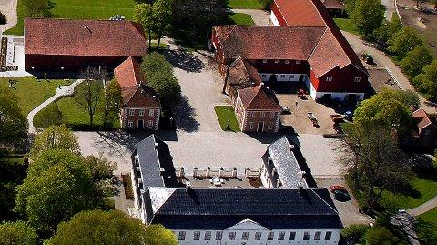 FREDET: I Sarpsborg kommune er det bare Hafslund Hovedgård som kan søke om en del av tilskuddet fra Riksantikvaren.
