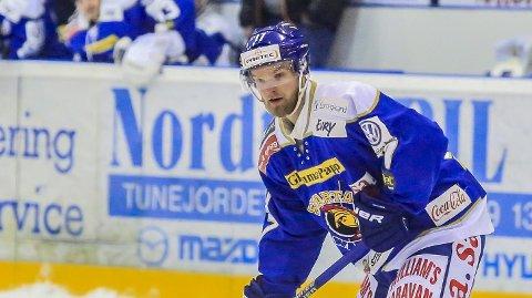 VONDT: Patrick Andre Bovim har slitt med en skade, men er tilbake i kveld. Foto: Tobias Nordli