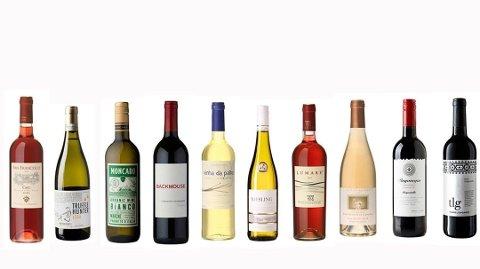 BILLIG OG STORT SETT IKKE SÆRLIG GODT: Én av disse vinene slipper til nød gjennom vinekspertenes nåløye.