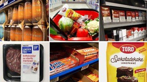 Ferske tall fra dagligvarekjempen viser at nordmenn har kost seg ekstra denne vinteren.