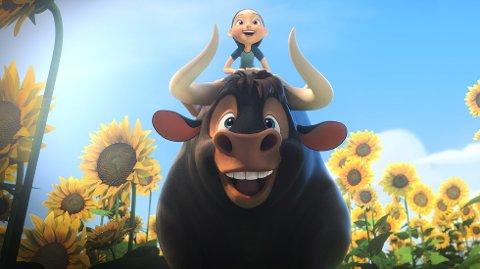 IKKE VIST: Filmen «Ferdinand» er blant filmene som ikke blir vist på Festiviteten onsdag på grunn av en teknisk feil.