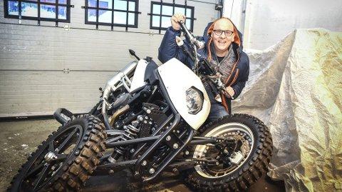 BIG IN JAPAN: Geir Brudelis patenterte oppfinnelse imponerte Yamaha. Foto: Stig Odenrud