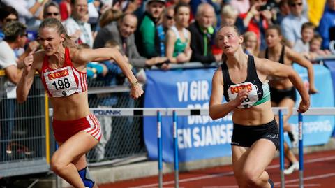 Agathe Holtan Wathne ble nummer to under finalen.