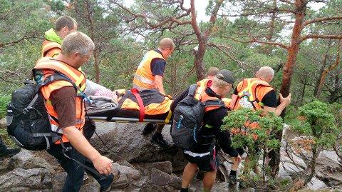 Så langt i år har Norsk Folkehjelp Strand og Forsand hatt 34 redningsaksjoner. (Foto: Norsk Folkehjelp Strand og Forsand)