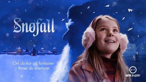 Illustrasjonsbilde: NRKs Snøfall Foto: Skjermbilde (NRK)