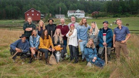 DRAMATIKK: Allerede er drama på gården i årets «Farmen»-utgave som spilles inn i Telemark.
