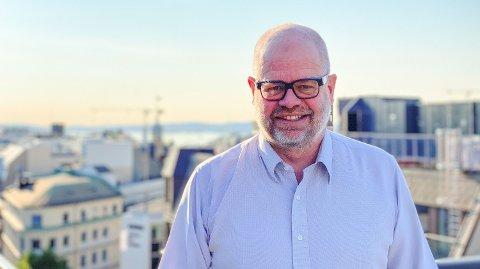 BEKYMRET: Even Bolstad, sjef for HR Norge, er bekymret for konsekvensene av hjemmekontor. Han er ikke den eneste.Foto: Nina Lorvik (Mediehuset Nettavisen)