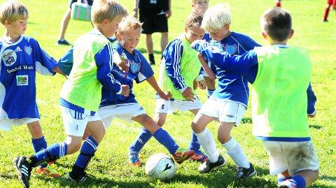 STORE VARIASJONER: Det kan være dyrt å ha barn som spiller fotball i Telemark, men slett ikke overalt. Innfelt: Nils Rune Midtbøen i NFF Telemark. FOTO: ILLUSTRASJON