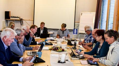 DÅRLIG START: Politikerne måtte konstatere at det ikke er noen god økonomisk start på året for Notodden kommune.