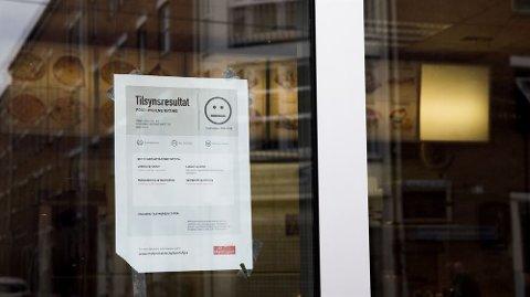 STREKMUNN: 25 restauranter fikk strekmunn i Telemark, men mattilsynet sørget for at alt ble ordnet. Foto: NTB scanpix