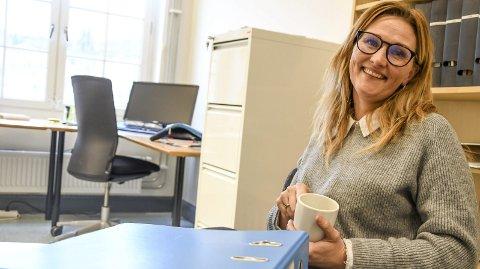 ETT ÅR: Tonje Byholt begynte som barnevernsleder i Notodden og Hjartdal for ett år siden. Det første halvåret på halv tid, og nå på hel tid.