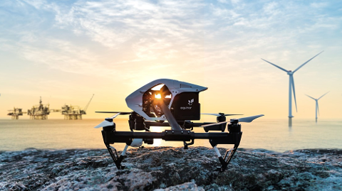 Ny droneteknologi vil gi et avgjørende bidrag til å dra ned kostnadene betydelig og skape grunnlag for ny aktivitet i havet utenfor Kristiansund.
