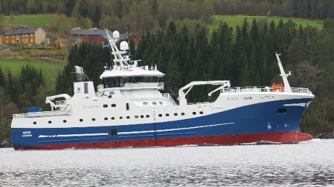 Kontrakten på byggingen av «Geir» har hatt en verdi på 250 millioner kroner og er den største enkeltkontrakten i hjørnesteinsbedriftens historie.
