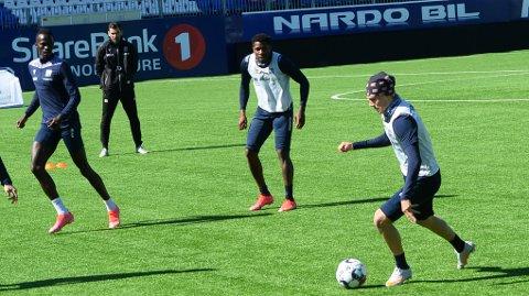 Olaus Skarsem er skadefri og trener for fullt, men neppe aktuell for en plass i startoppstillingen mot Molde.