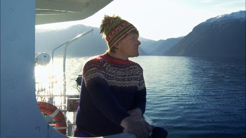 FISKEOPPDRETT I OSLOFJORDEN: Mads Bækkelund har et håp om å opprette et fiskeoppdrett i Oslofjorden. Han har også en plan for å benytte den svartelistede arten Stillhavsøsters som en ressurs.