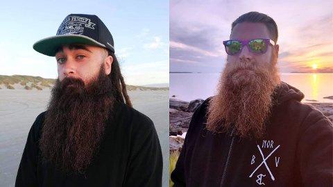 KONKURRENTER: Stephen Michael Grosvold (til venstre) og Ronny Greaker (til høyre) gleder seg til skjeggsamling i Oslo.