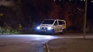 Kontrollerte kjenninger: Natt til mandag ble tre menn stoppet på Bergsmyr i Tvedestrand og kontrollert av politiet.