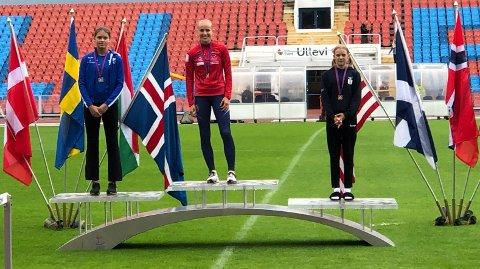 BEST I KLASSEN: Cassandra Ødegård Nilsen er best i Norge, men nå har hun også begynt å klå svenskene.