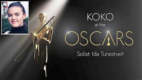 At The Oscars: Kolbotn Konsertorkester inviterer til en konsert i Oscar-utdelingens ånd sammen med Ida Eid Tunestveit.