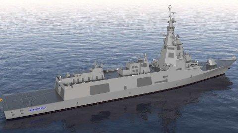 STOROPPDRAG: Leveransen av fremdriftssystemer til fem spanske fregatter har en verdi på ca. 200 millioner kr for Kongsberg Maritime.