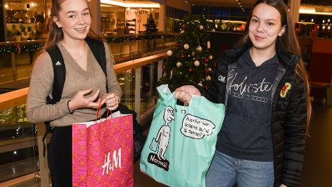 32b6fd3c Søstrene Camilla (14) og Karoline (15): – I dag sto vi opp kjempetidlig for  å handle før skolestart