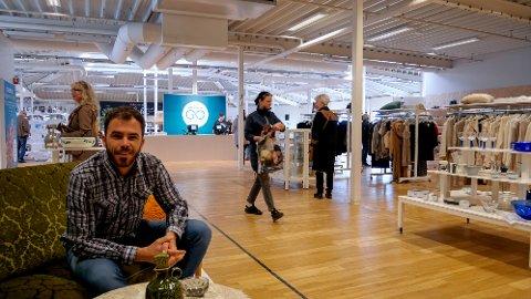 db160fe7 1.500 kvadratmeter med gjenbruk åpnet i Dikeveien: – Norges mest innovative  gjenbruksbutikk