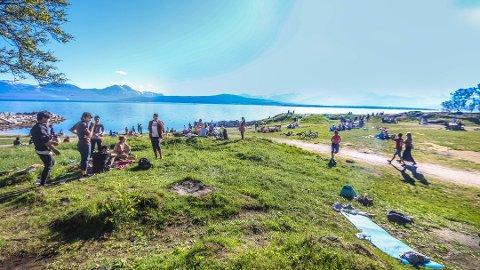 bbad21a5 Nordlys - - Ni av de ti varmeste plassene i Norge i dag var fra Nord ...