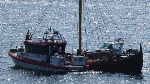 7604ff26 Kvinne fikk bruddskader ombord på vikingskip på vei til Telemarkskanalen