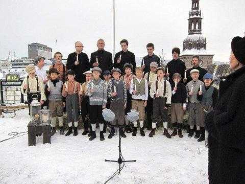 Konsert med Det Norske Guttekoret.