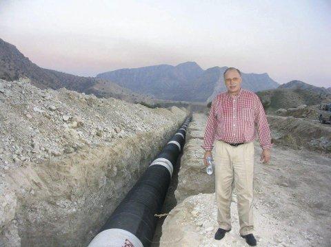Dom: Viggo Amundsen skulle kjøpe vann for å selge det til ørkenområder. Nå er han dømt for brudd på ligningsloven for ikke å ha oppgitt inntektene av aksjesalg i den forbindelse.Foto: Østlandets Blad