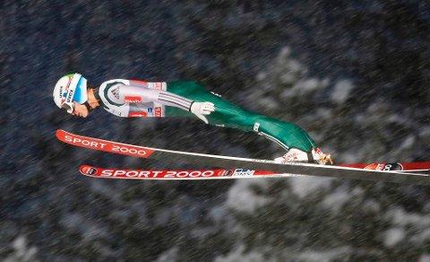 Phillip Sjøen flyr fortsatt litt for lavt til å kjempe med de beste i hoppuka.