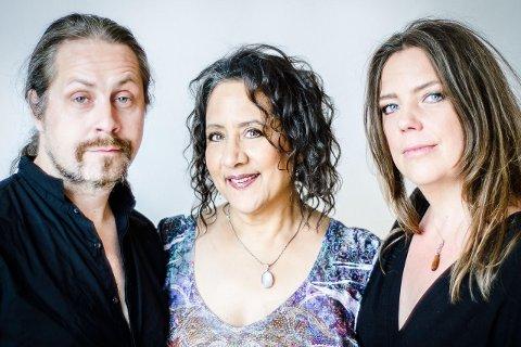 Mazur stiller i trio med Josefine Cronholm og Krister Jonsson. Arrangementet er en del av den landsomfattende festivalen Vinterjazz. FOTO: Stephen Freiheit.