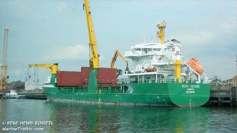 OSLO HAVN: - Det er skipet Ocean Voyager som har stanset og ligger ved Storegrunn i Drøbaksundet, melder Oslo Havn fredag morgen.
