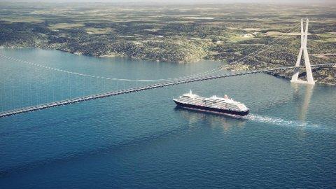 STRIDSTEMA: Debatten om bro eller tunnel som kryssing av Oslofjorden, pågår for fullt.