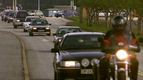 Motorsyklene står for fem prosent av den norske kjøretøybestanden, men på dødsulykker er de sterkt overrrepresentert. Illustrasjonsfoto: Scanpix.