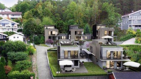 Omtrent slik vil de nye leilighetene, tegnet av Kile Stokholm arkiteter, se ut.