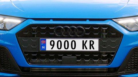 På to år har 7.300 nordmenn kjøpt sitt eget, personlige bilskilt. Nå vet vi hva pengene har gått til. Illustrasjonsfoto