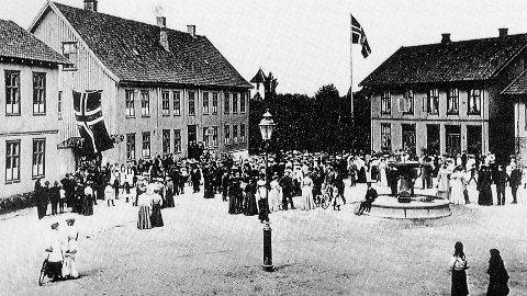 Folkeavstemning ved unionsoppløsningen 1905.