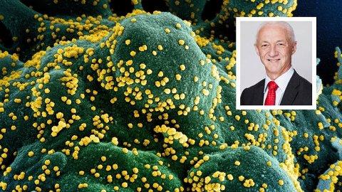 MENNESKESKAPT: Forsker Birger Sørensen hevder at koronaviruset er menneskeskapt.