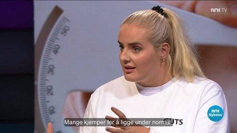 Blogger Martine Halvorsen fra Nesodden deltok denne uke i Debatten på NRK. –  Fedme og overvekt burde ikke dreie som om hva som ser bra ut i speilet eller hva som drar likes på Instagram, sier Halvorsen til Amta.