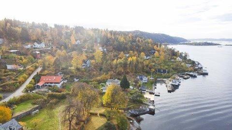 FLASKEBEKK: Meglerne spår boligprisvekst også i 2021. Nesodden har en rekke boliger i nærheten av sjø og har vært blant boligvinnerne i Norge de siste årene.