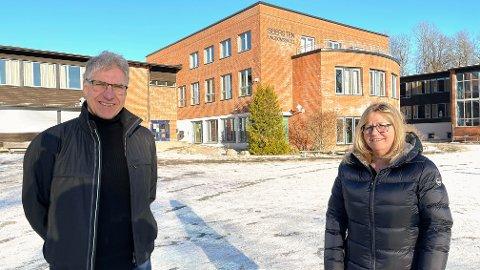 Anne Kristine Linnestad og Sigbjørn Odden er glade for midlene til sommerskole i Frogn.